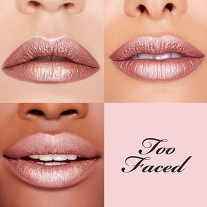 Too Faced Melted Matte-Tallic Lipstick 👄